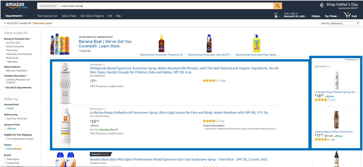Amazon - Sponsored Product